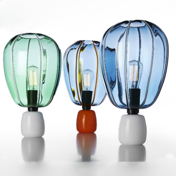 Murano glass light bulbs