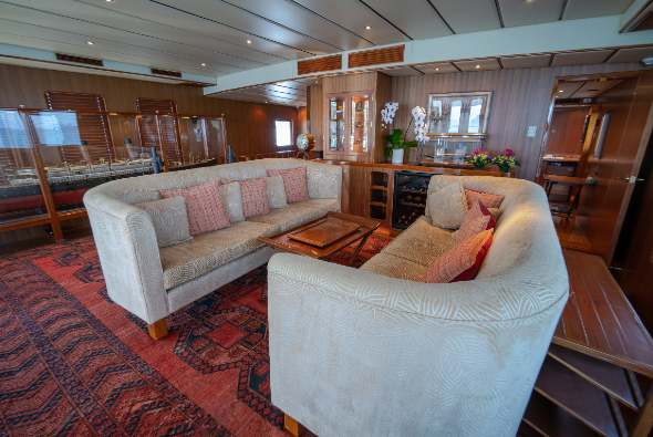 Yacht NORTHERN SUN interior space