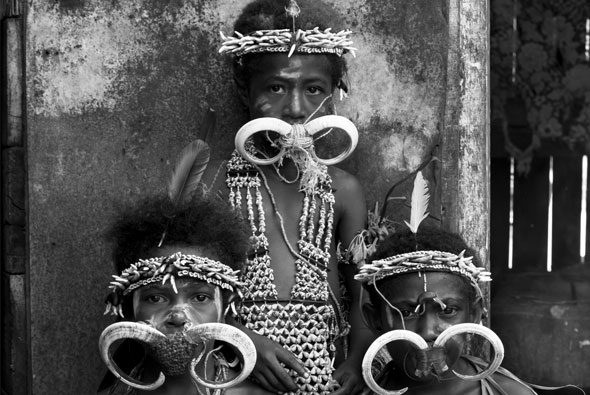 Tribe in Papua New Guinea