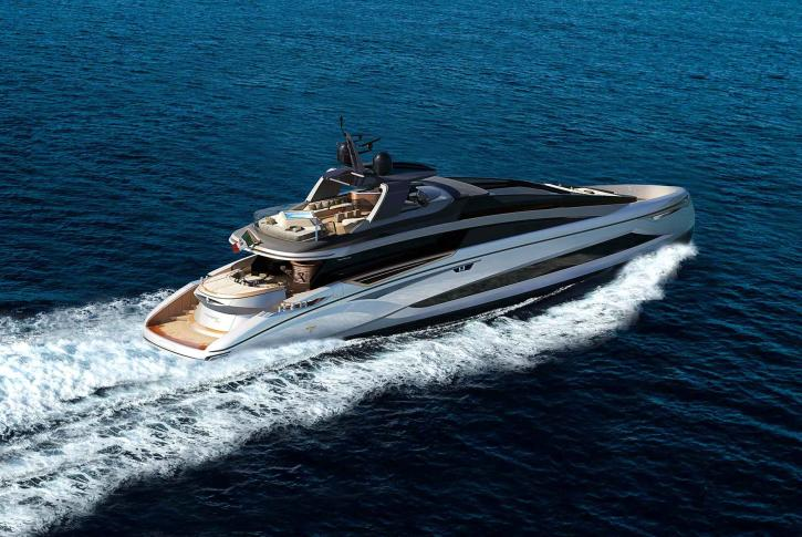 Tecnomar EVO 120 yacht sold