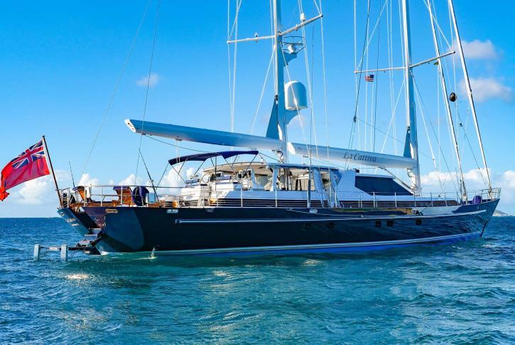 La Cattiva sailing yacht for sale