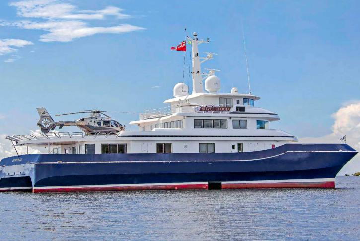 Silver Cloud yacht sold