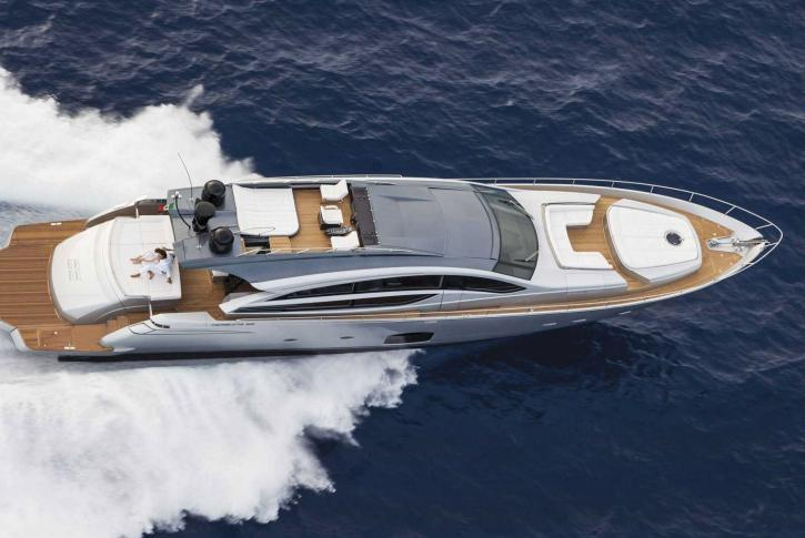Pershing motor yacht BAGHEERA for sale