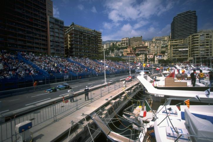 watching the grand prix onboard