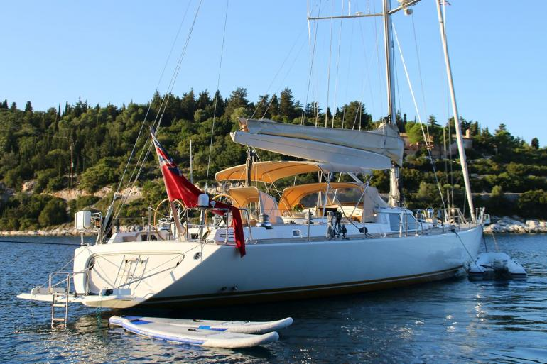 Sailing yacht CAMILLA OF LONDON sold
