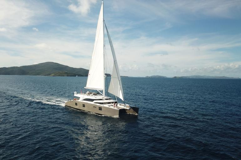 Luxury sailing yacht IPHARRA