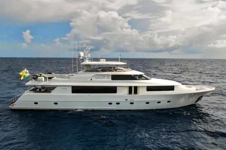 LADY JJ yacht for charter