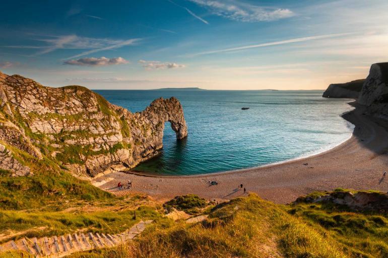 Durdle door UK coast