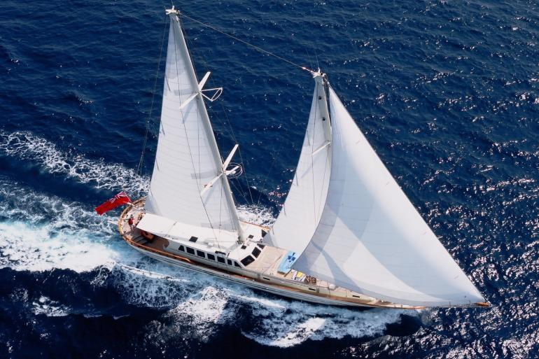33m sailing yacht TIGERLILY OF CORNWALL