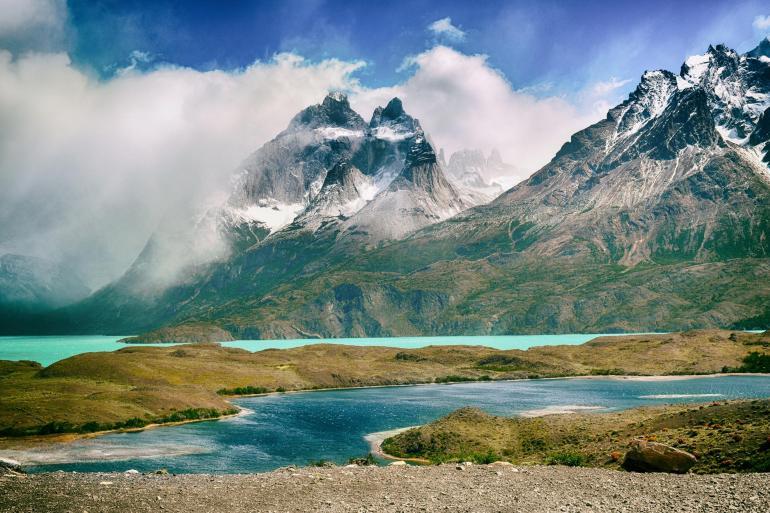 Patagonia landscape shot