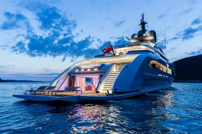 motor yacht heesen