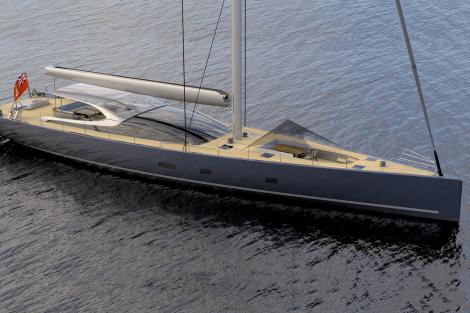 MM38 sailing yacht concept