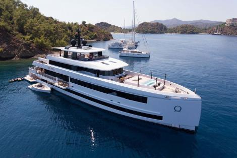 Aquarius yacht for charter