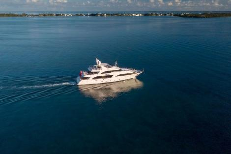 37m Benetti motor yacht BELIEVE for sale