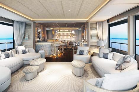 Superyacht CALYPSO award-winning interior