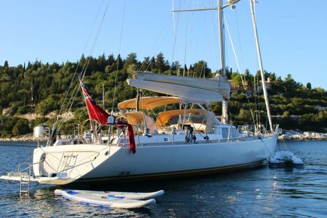 Sailing yacht CAMILLA OF LONDON sold