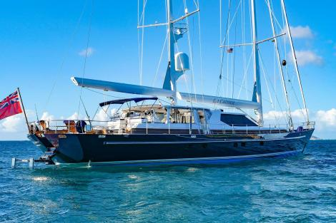 La Cattiva sailing yacht for sale
