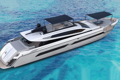 OTAM CUSTOM RANGE 155 sports yacht