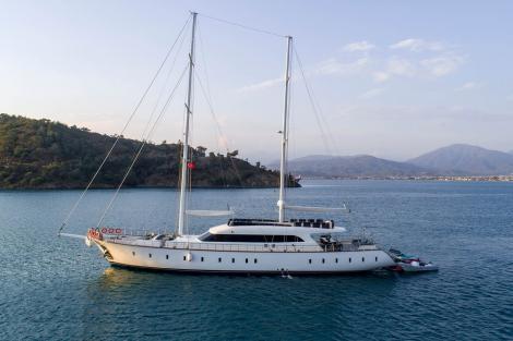 QUEEN OF MAKRI sailing yacht