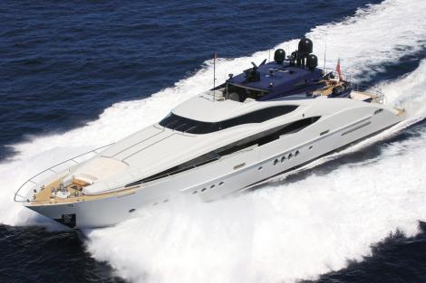 Palmer Johnson motor yacht SIREN