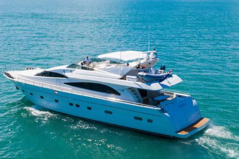 Tiffany Astondoa 82 yacht for sale