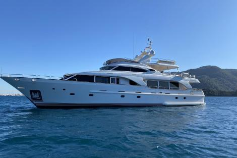 Benetti yacht TURK's for sale