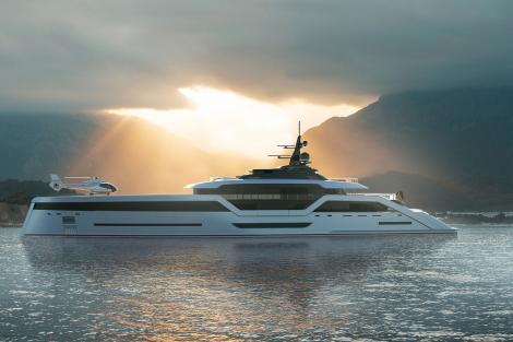 VAST 72 concept superyacht