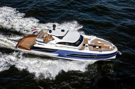 Van der Valk Beachclub 600 motor yacht sold by Ocean Independence