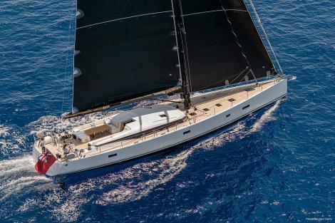 Sailing yacht XAIRA