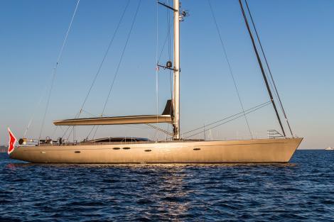 Sailing yacht A SULANA