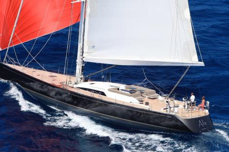Sailing yacht ALIX