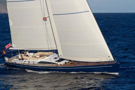 ANANDA sailing yacht for charter