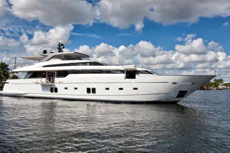 ANDINORIA Sanlorenzo yacht for sale