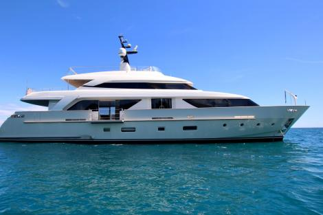 Sold Sanlorenzo motor yacht AVENTUS
