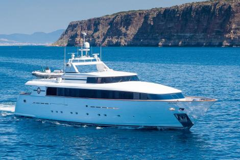 Baglietto yacht BLUE MAGIC for sale