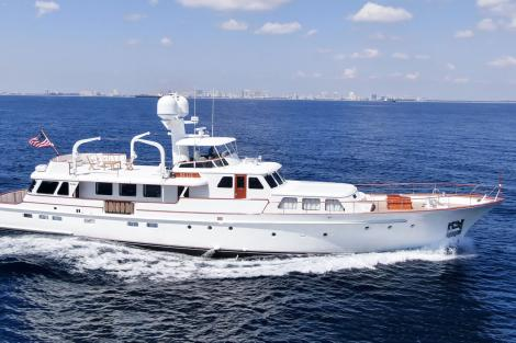 Feadship motor yacht BLUE for sale