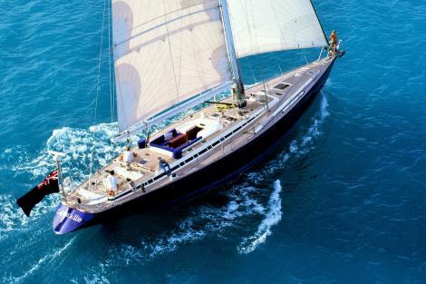 Sailing yacht CAPERCAILLIE