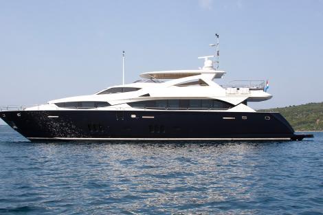 Cassiopeia motor yacht