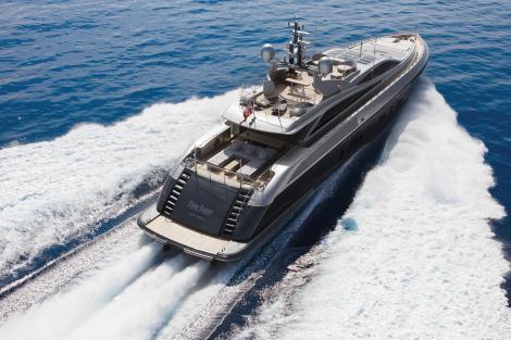 flying dagger motor yacht