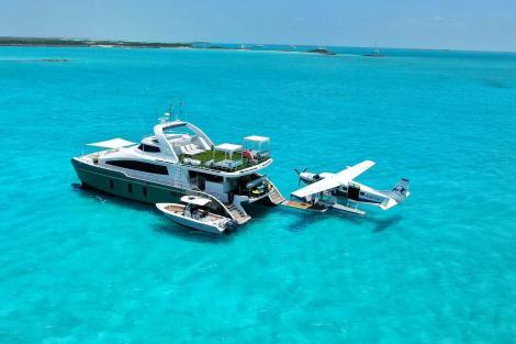Tropic Ocean seaplane and charter yacht SAMARA