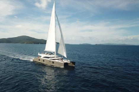 Luxury sailing yacht IPHARRA
