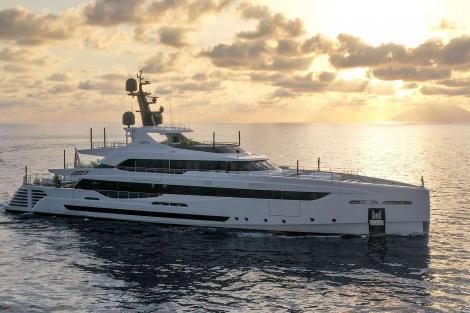 superyacht LEL for charter