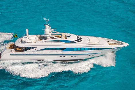 Heesen yacht Man of Steel Sold