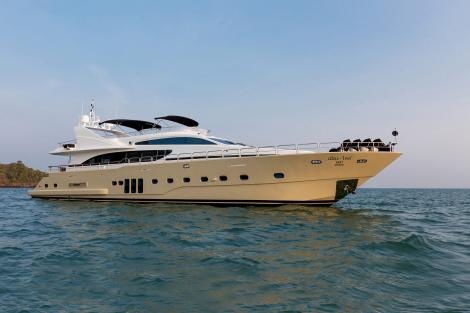 Motor yacht MIA KAI for charter in Thailand