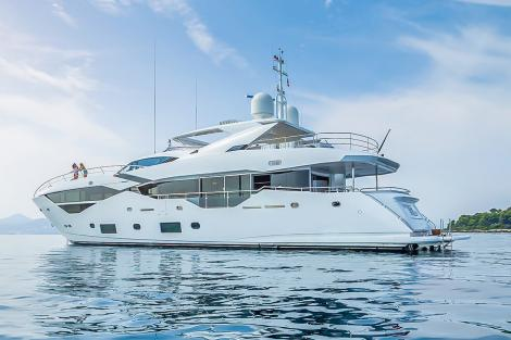 Charter yacht MR. K