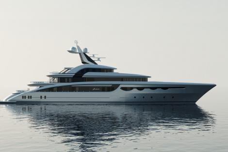 Superyacht SOARING for charter