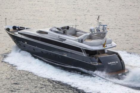 motor yacht tamara
