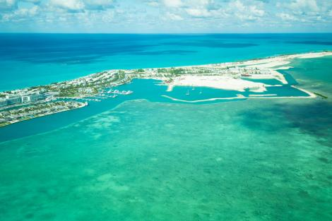 Bahamas yacht charter view