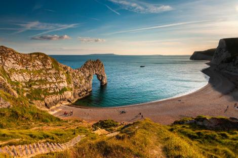 Durdle door UK coast