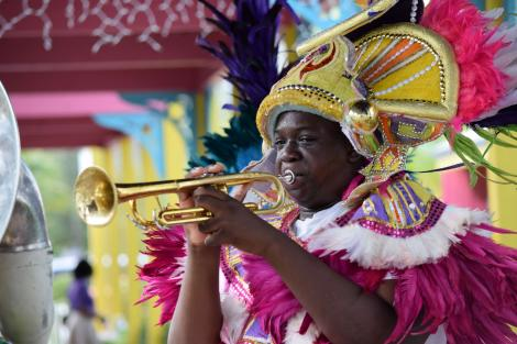 Vibrant carnival time in Nassau
